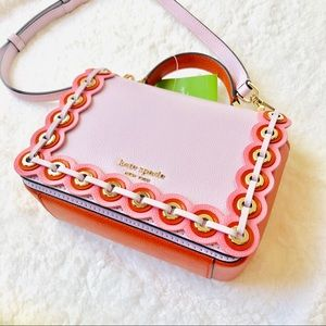 Kate Spade Maisie Small Grommet Satchel Crossbody